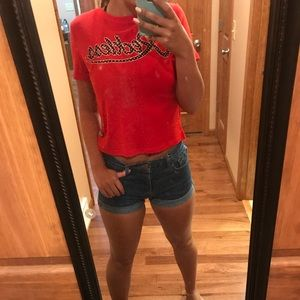 Young & Reckless crop top NWT